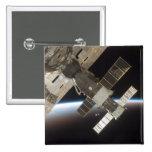 The docked Soyuz 13 Pinback Buttons