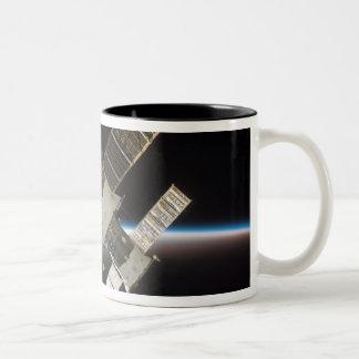The docked Soyuz 13 Two-Tone Coffee Mug