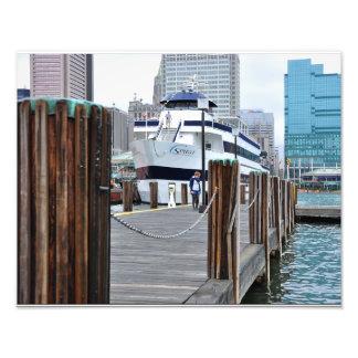 The Docks at Baltimore Harbor Photo Print