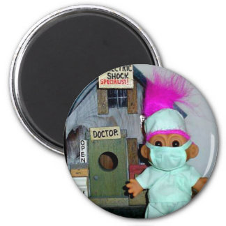 The Doctor is In 2 Inch Round Magnet