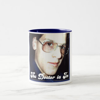 The Doctor Is In! Two-Tone Coffee Mug