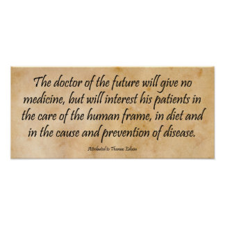 The Doctor of the Future Print