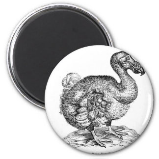 The Dodo 2 Inch Round Magnet