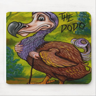 THE DODO Alice in Wonderland Mouse Pad