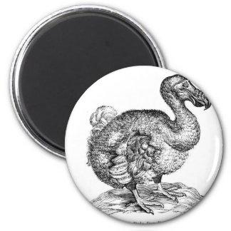 The Dodo 2 Inch Round Magnet