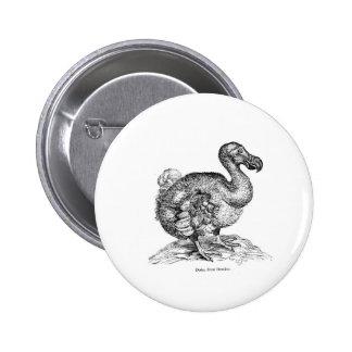 The Dodo Pinback Button