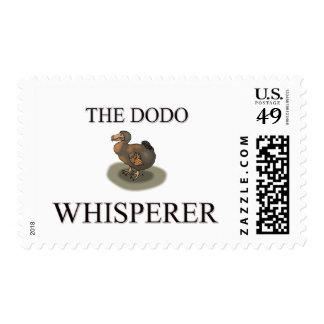 The Dodo Whisperer Postage Stamp
