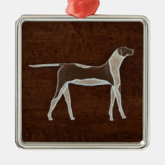 The Dog 2009 Metal Ornament