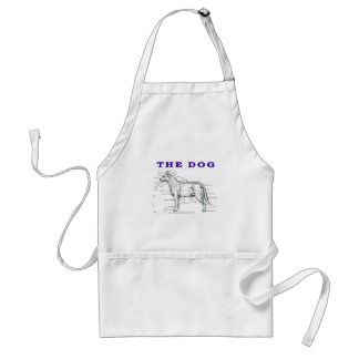 THE DOG ADULT APRON
