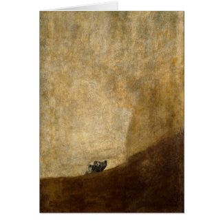 The Dog (Black Paintings) by Francisco Goya 1820 Cards
