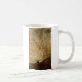 The Dog (Black Paintings) by Francisco Goya 1820 Coffee Mug