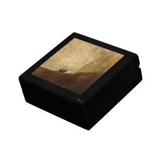 The Dog (Black Paintings) by Francisco Goya 1820 Jewelry Box