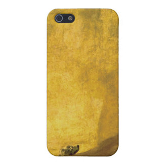 The Dog, by Francisco de Goya iPhone SE/5/5s Cover