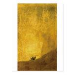 The Dog, by Francisco de Goya Postcard
