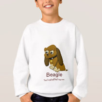 The Dog Cartoon Animated Beagle Sweatshirt