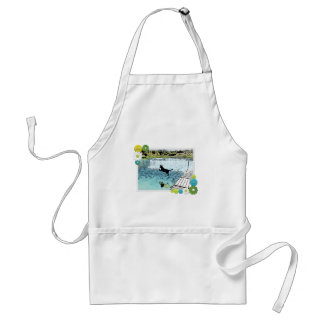 The Dog Days of Summer at the Lake Adult Apron