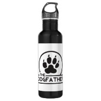 The Dog Father Water Bottle