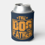 The Dog Father Worn Graphic Can Cooler