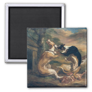 The Dog Fight, 1678 Magnet