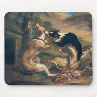 The Dog Fight, 1678 Mouse Pad
