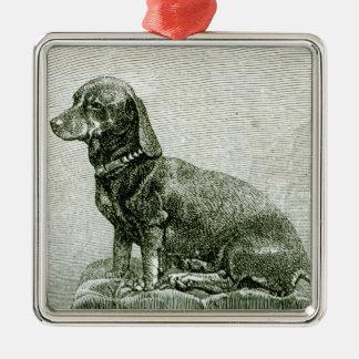 The Dog Jacob Metal Ornament