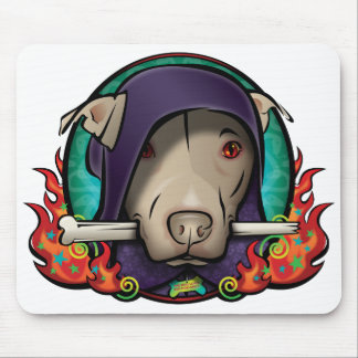 The Dog Lord Mousepad