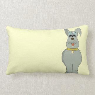 The dog lumbar pillow