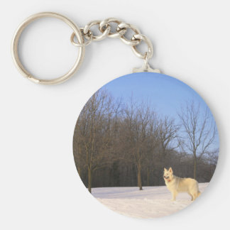 The Dog On A HIll Keychain