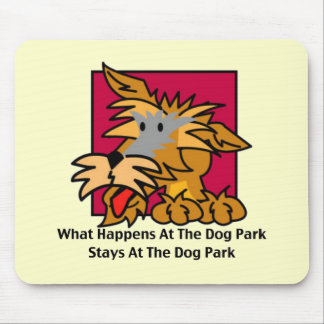 The Dog Park (2) Mouse Pad