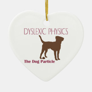 The Dog Particle Ceramic Ornament
