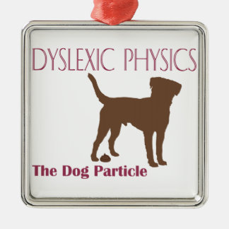 The Dog Particle Metal Ornament