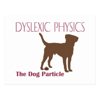The Dog Particle Postcard