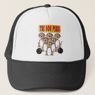 The Dog Pins Bowlers Trucker Hat
