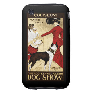 The Dog Show Tough iPhone 3 Cover