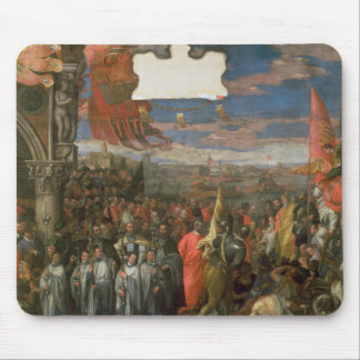The Doge Andrea Contarini Returning Victorious fro Mouse Pad