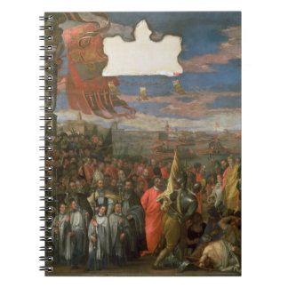 The Doge Andrea Contarini Returning Victorious fro Spiral Notebooks