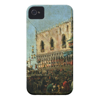 The Doge in the Shrove Tuesday Festival on the Pia Case-Mate iPhone 4 Case