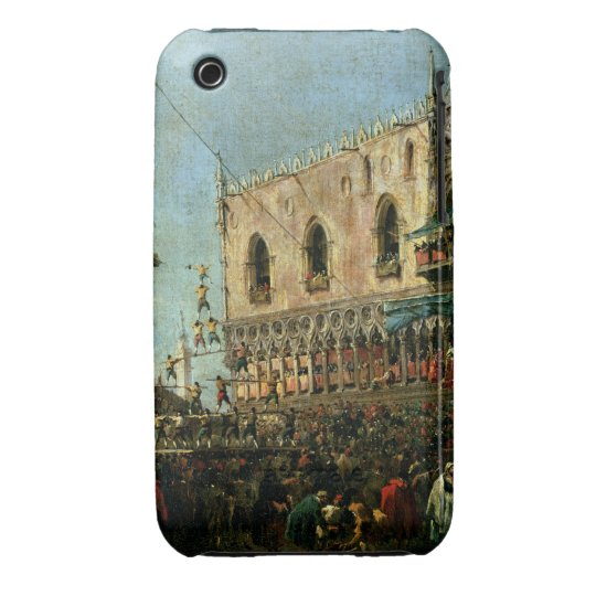 The Doge in the Shrove Tuesday Festival on the Pia iPhone 3 Case-Mate Case