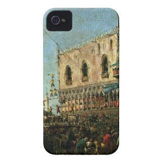 The Doge in the Shrove Tuesday Festival on the Pia iPhone 4 Case