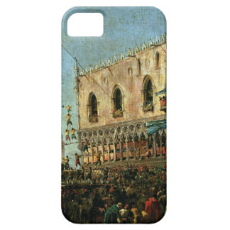 The Doge in the Shrove Tuesday Festival on the Pia iPhone SE/5/5s Case