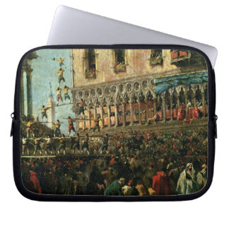 The Doge in the Shrove Tuesday Festival on the Pia Laptop Sleeves