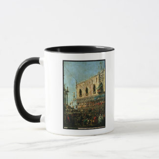 The Doge in the Shrove Tuesday Festival on the Pia Mug