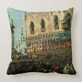 The Doge in the Shrove Tuesday Festival on the Pia Pillow
