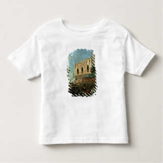 The Doge in the Shrove Tuesday Festival on the Pia Toddler T-shirt