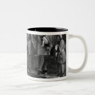 The Doge of Genoa Two-Tone Coffee Mug