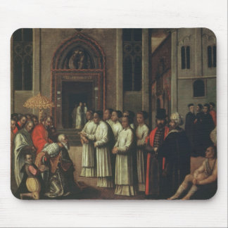 The Doge Ziani Meets Pope Alexander III (1105-81) Mouse Pad