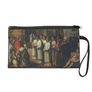 The Doge Ziani Meets Pope Alexander III (1105-81) Wristlet Purse