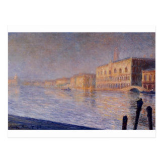 The Doges' Palace by Claude Monet Postcard