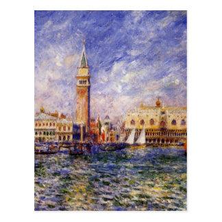 The Doges' Palace by Pierre-Auguste Renoir Postcard