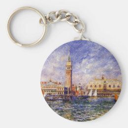 The Doges' Palace by Renoir Keychain